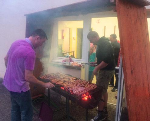 Un barbecue bien arrosé !