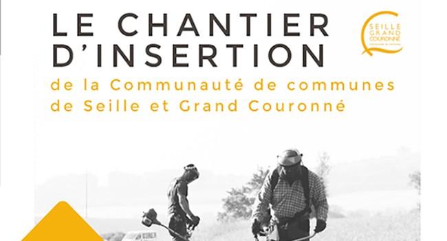 flyer Chantier d'insertion